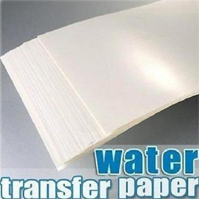 A4 Inkjet Light Water Transfer Paper for Cup Decal Craft DIY (transparent)