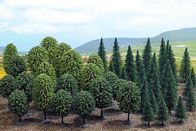 Busch Gmbh and Co Kg - Trees -- Mixed Forest pkg(50) - HO
