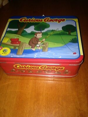 Curious George Lunch Box #1594