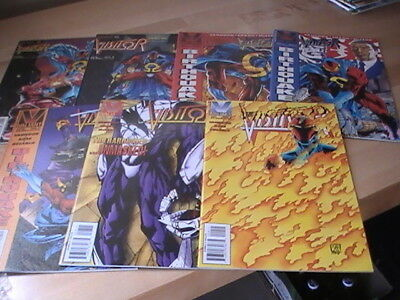 The Visitor #1,3,4,5,7,8,9,lot of 7 Valiant comics,1994