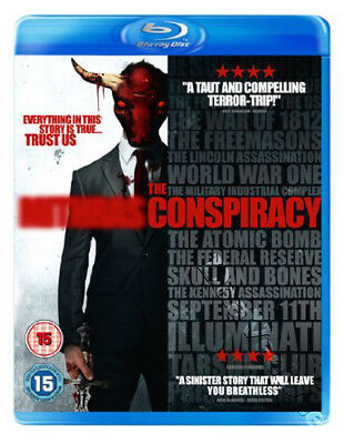The Conspiracy NEW Cult Blu-Ray Disc Christopher MacBride Aaron Poole J. Gilbert