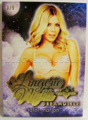 Talor Marion Gold Foil Lingerie Nights Dreamgirls 3/5 Bench Warmer 2017 Rare