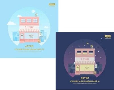 ASTRO DREAM PART.01 4th Mini Album CD+POSTER+P.Book+Postcard+Card+T.Card SEALED