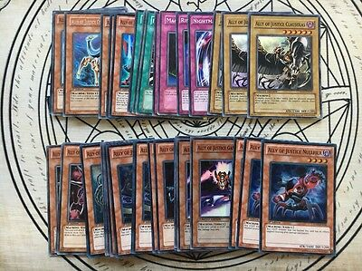 Yugioh Complete Ally Of Justice Deck