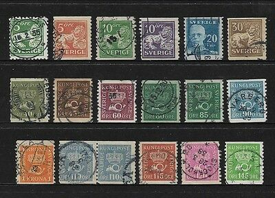 SWEDEN - 1920 issues