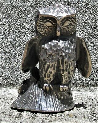 """S. KIRK & SON SOLID CAST STERLING MINIATURE """"OWL"""" 3.69  oz."""