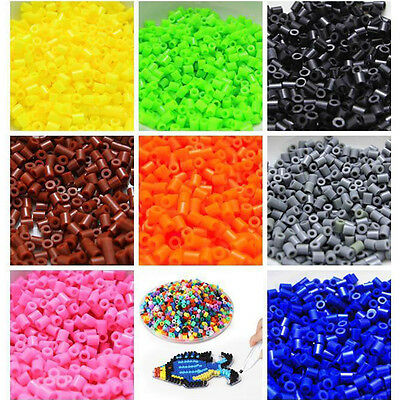 1000pcs/Set DIY 5mm 29 Colors Hama Perler Beads Christmas Gift Kids Craft Great