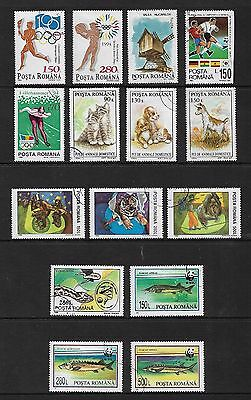 ROMANIA - mixed collection No.31, 1994 issues, CTO