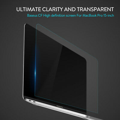 """Baseus CF Clear Transparent Screen Protector for 2016 New Macbook Pro 15"""" A1707"""
