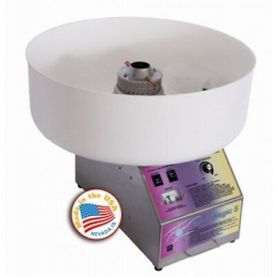 Spin magic cotton candy machine plastic bowl, paragon candy floss, commercial