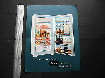 Pope Fashion 10 Refrigerator BROCHURE