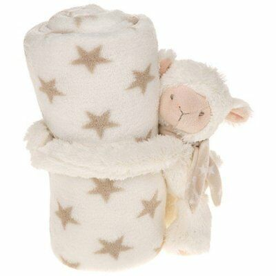Small Cuddletime Blanket with Sheep