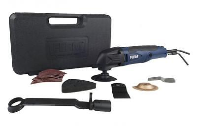 Ferm Power Tools Corded-Electric Carbide Saw Blade Oscillating Multitool Kit US