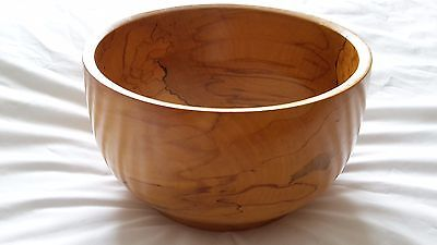 Woodcraft  Bowl Beautiful Handcrafted Yorkshire Crafted Rodger A Pell Roger Pell