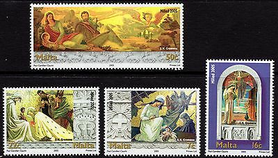 2005 Malta Christmas Complete Set SG 1450 - 1453 Unmounted Mint