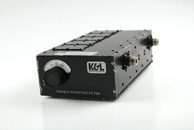 K&L 5BT-125/225-5N Tunable Bandpass Microwave Filter 125-250 MHz
