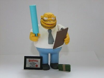 The Simpsons Playmates World of Springfield Dr Marvin Monroe figure