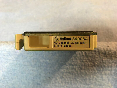 HP Agilent 34908A 40 Channel Single-Ended Multiplexer Module for 34970A