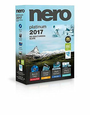 Nero Platinum 2017 - Full Version / Brand New - Online Delivery