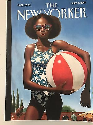 The New Yorker, July 3, 2017 (Beachball cover)