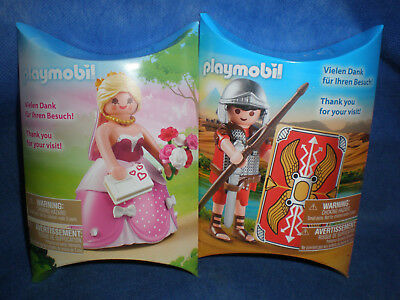Playmobil Give away Promo Messe Römer Prinzessin Doppelpack Set neu new
