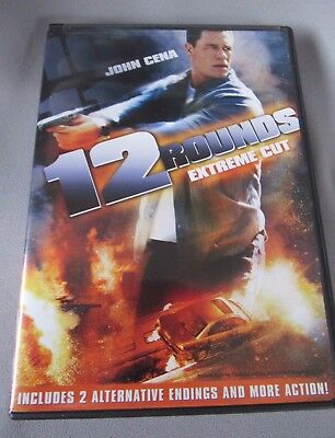 12 Rounds (DVD, 2009, Rated/Unrated) PG-13 EXTREME CUT