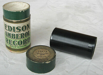 Edison Amberol Phonograph Cylinder Record ~ Music Hall song ~ Florrie Forde