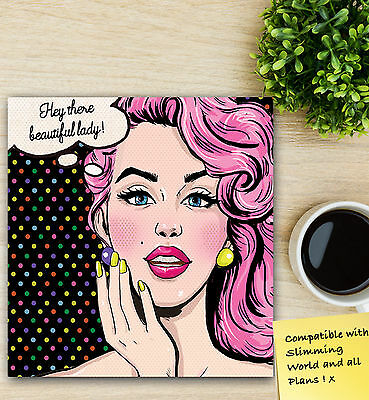 Food Diary My Diet Compatible with Slimming World Food Journal Planner B/Face