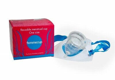 Femmecup  - excellent design one size menstrual cup