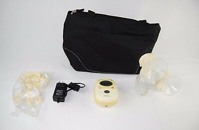 Medela Freestyle Double Electric BreastPump Deluxe Set Working