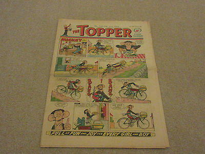 THE TOPPER COMIC, No 522- Feb 2nd 1963- with  BERYL THE PERIL- good condition-