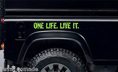 2x offroader stickers for Land Rover Discovery series 2classic