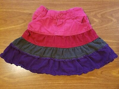 Baby Girl Size 24M The Children's Place Corduroy Skirt Wpanties Underneath