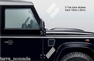 Tyre Track Stickers, Decal, Land Rover, 4x4, Off Road,30cm x 10cm x 2