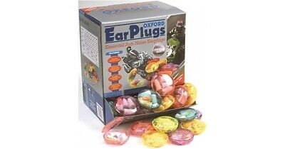 2 pairs of Genuine OXFORD Ear Plugs in Plastic case