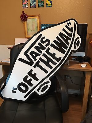 Large Vans Store Logo Wood and Laminate Sign - From The Store