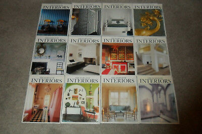 All 12 THE WORLD OF INTERIORS Magazines From 2005