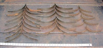 19 Steel Springs from Antique Pump Organ Bellows Hardware Used Parts Salvage