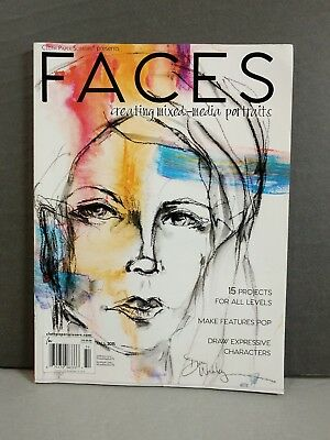 Faces Creating Mixed-Media Portraits Magazine