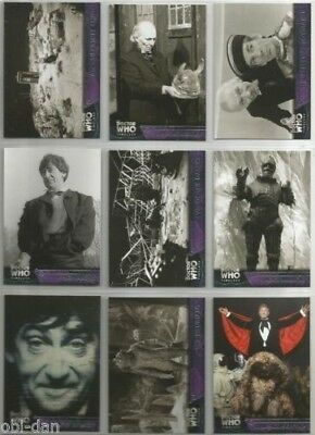 Doctor Who Dr. Who TIMELESS trading card set (Topps 2016) + 3 insert sets