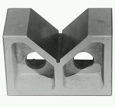 12 X 6 X 8 INCH CAST IRON V-BLOCK SET (3402-1012)  This is a SET 2 Blocks!