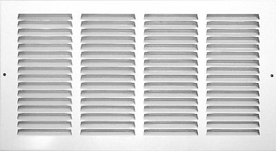 OpenBox Accord ABRGWH168 Return Grille with 1/2-Inch Fin Louvered, 16-Inch x 8-I