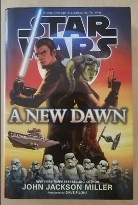 **BRAND NEW** star wars a new dawn hardcover 1st edition