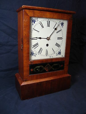 Antique Waterbury Cottage Clock