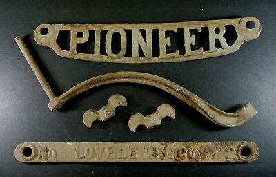 Vintage Lovell Pioneer Wringer Washer 22 - Cast Iron Parts