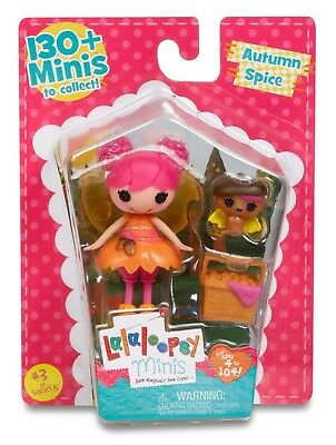 Lalaloopsy Mini Autumn Spice Series 15  #3 ** Brand New**