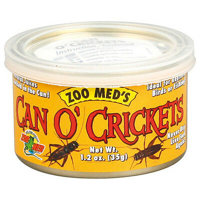 Zoo Med Can O'Crickets 35 g, UVP 7,19 EUR, NEU