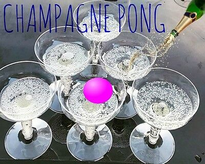 Champagne Pong Drinking Game Prosecco Hen Party Bridal Shower Wine Gifts