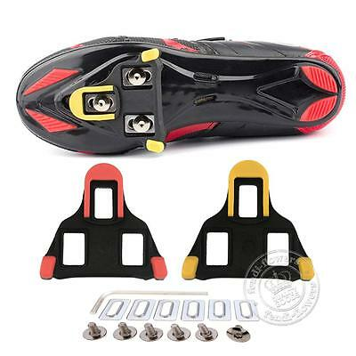 2 pcs Road Self-locking Bike Cycling Pedal Cleats Set For Shimano SM-SH11 SPD-SL