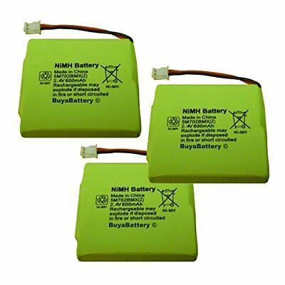 3 x New BuyaBattery Branded Replacement Batteries for BT Verve 450 and 410